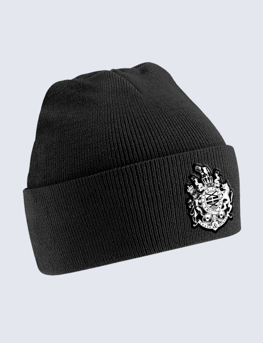 Chase and Status (Crest) Black Beanie